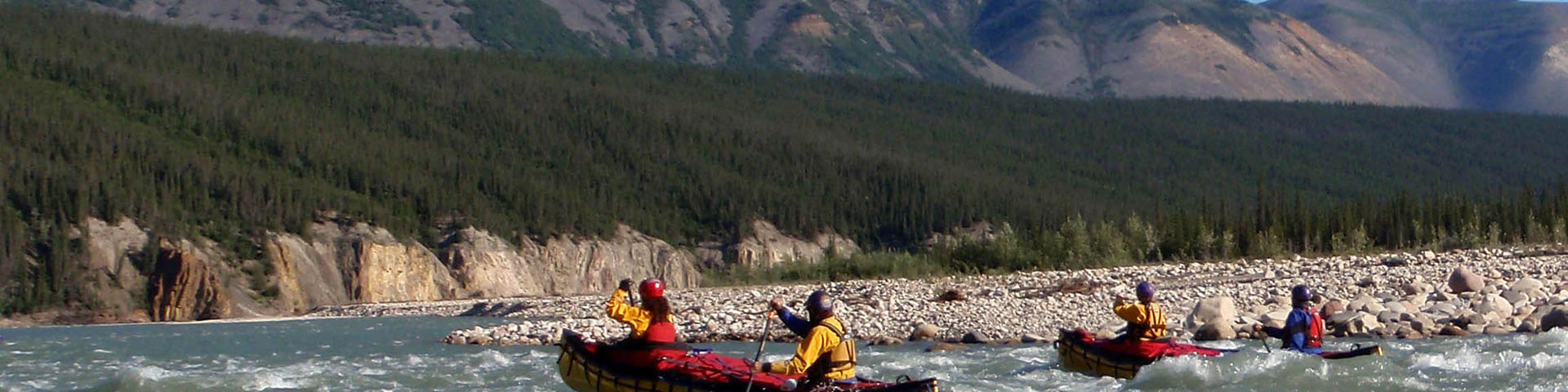 Mountain River Canoe Trip by Black Feather - Image 256