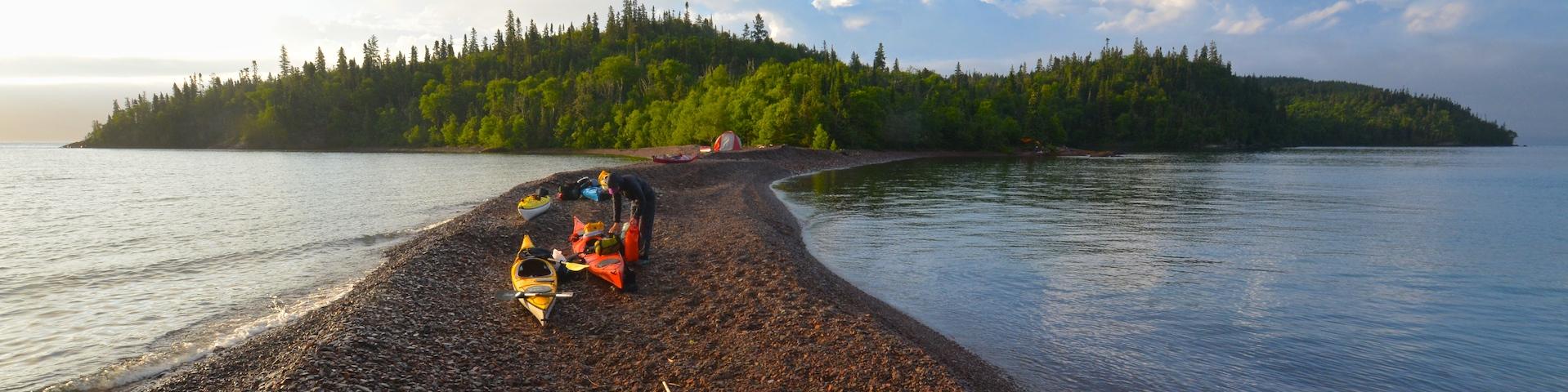 Lake Superior - Sea Kayak the Sibley Penisula by Naturally Superior Adventures - Image 234
