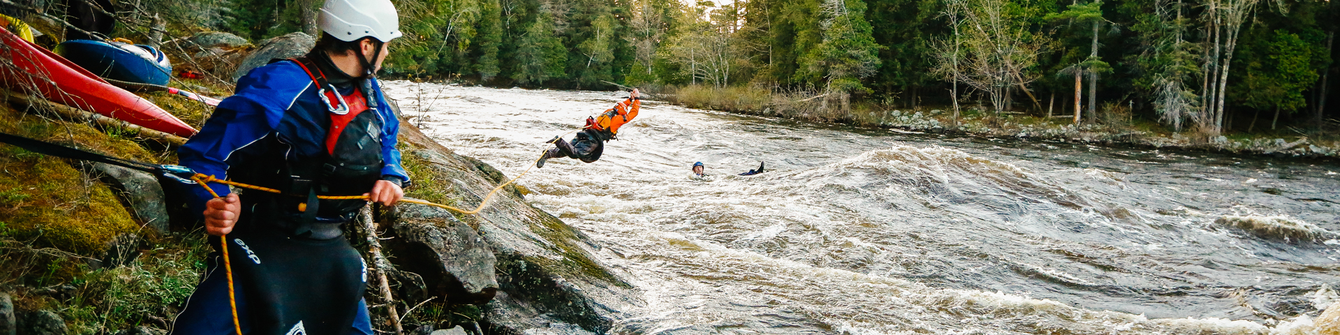 Whitewater Rescue Technician Levels I, II, & III - 4 day course by Boreal River Rescue - Image 60