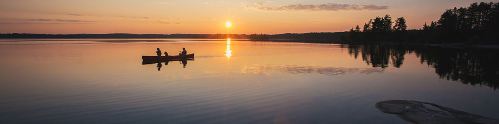 1 Day Paddle, Eat, Sleep Package by Voyageur Wilderness Programme - Image 1